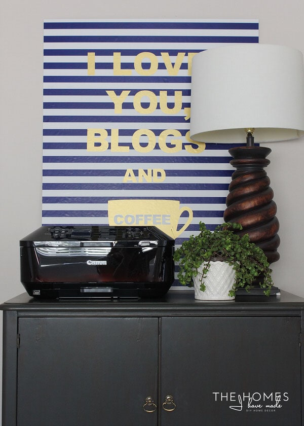 The Homes I Have Made - 6 Months In Home Tour - Office