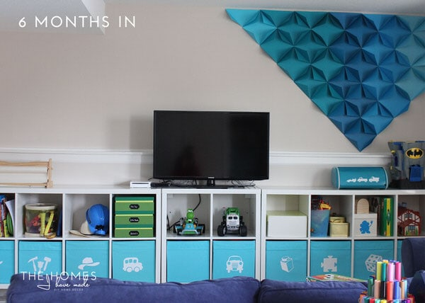 The Homes I Have Made - 6 Months In Home Tour - Playroom