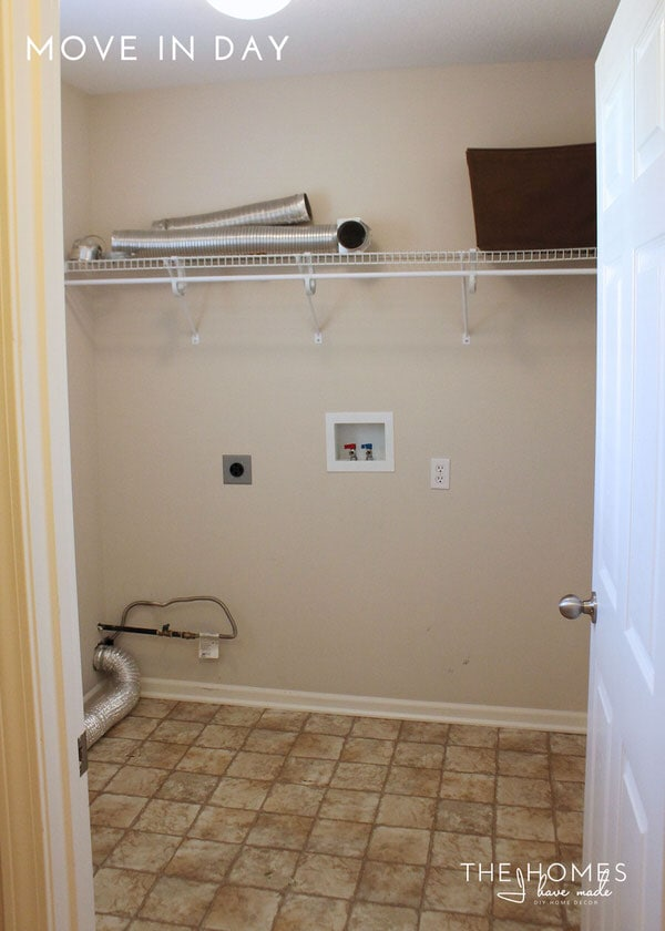 The Homes I Have Made - 6 Months In Home Tour - Laundry Room