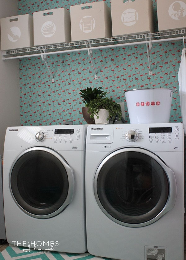 The Homes I Have Made - 6 Months In Home Tour - Laundry