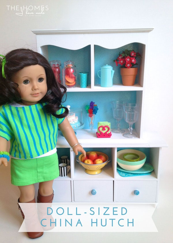Hits and Misses - Kid Edition | Doll-Sized China Hutch