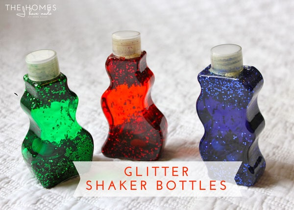Hits and Misses - Kid Edition | Glitter Shaker Bottles