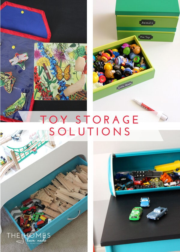Toy Storage Solutions on I Heart Organizing
