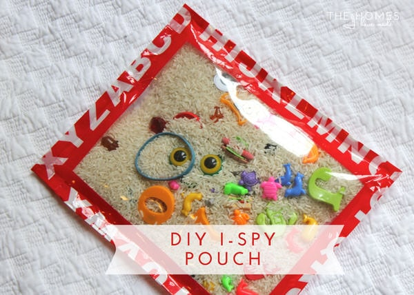 Hits and Misses - Kid Edition | DIY I-Spy Pouch