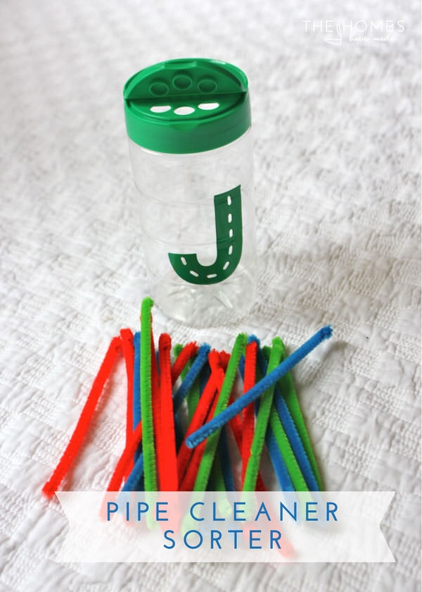 Hits and Misses - Kid Edition | Pipe Cleaner Sorter