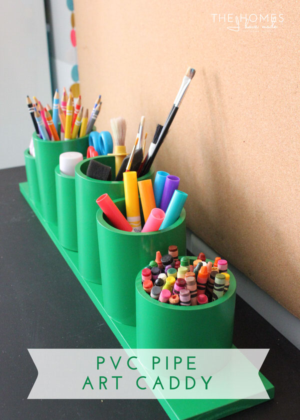 Hits and Misses - Kid Edition | PVC Pipe Art Caddy