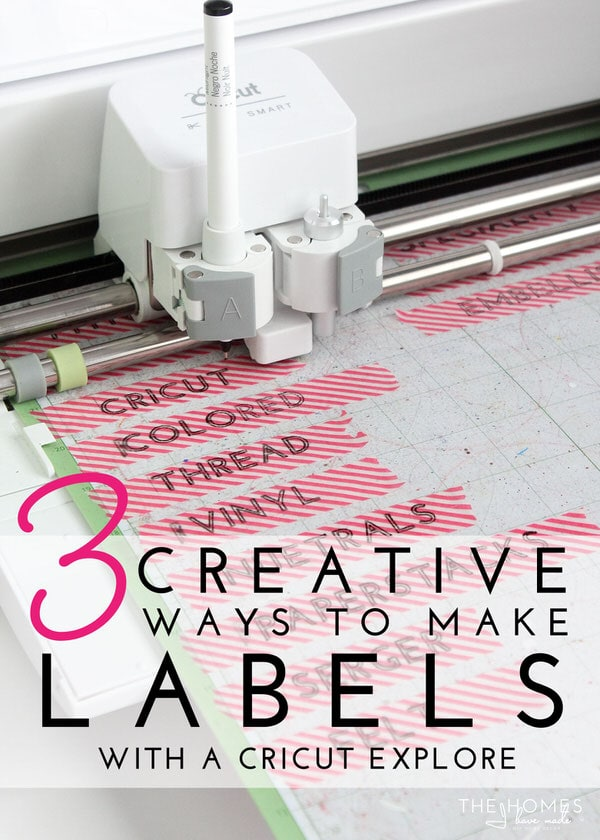 3 Creative Ways To Make Labels With A Cricut Explore The