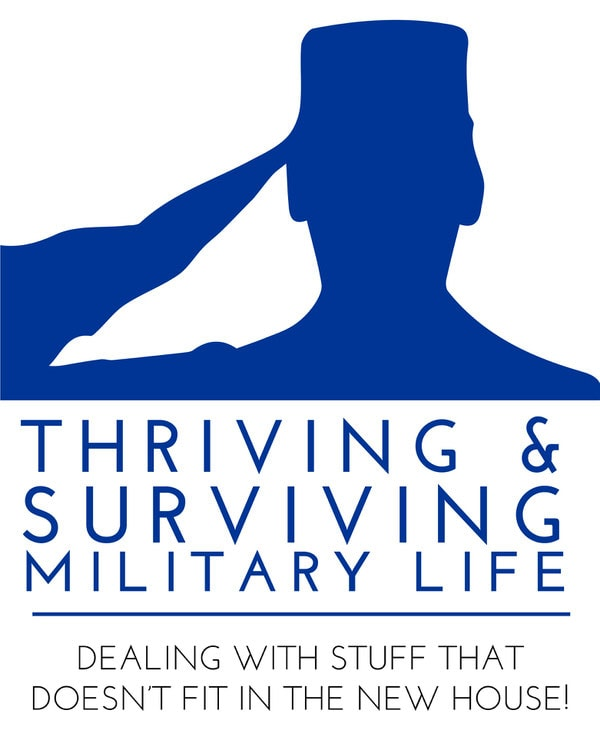 Military Thriving and Surviving Life | Dealing with Stuff That Doesn't Fit in the New House!