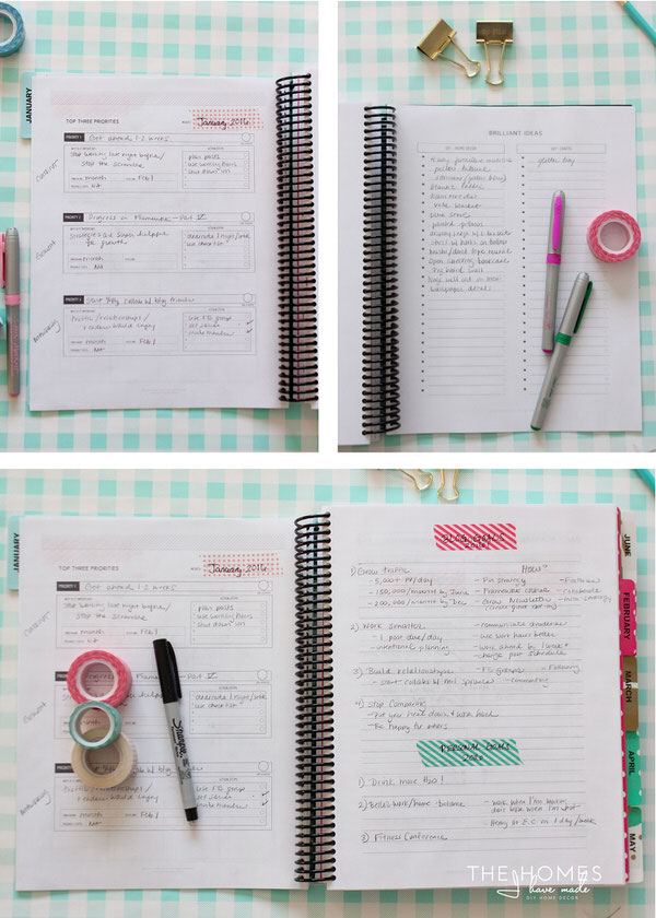 Customized Printable Planner
