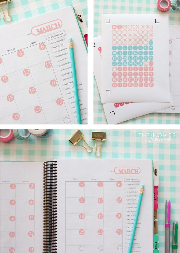 DIY Planner Stickers with a Cricut