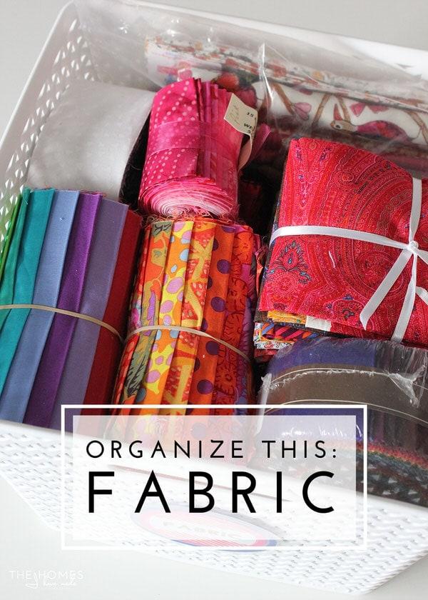 Organize This: Fabric
