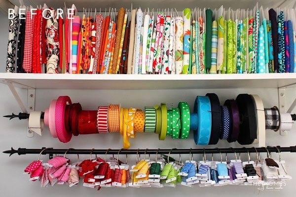 Fabric On Shelf