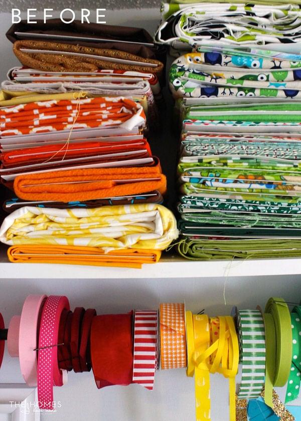Fabric On Shelf