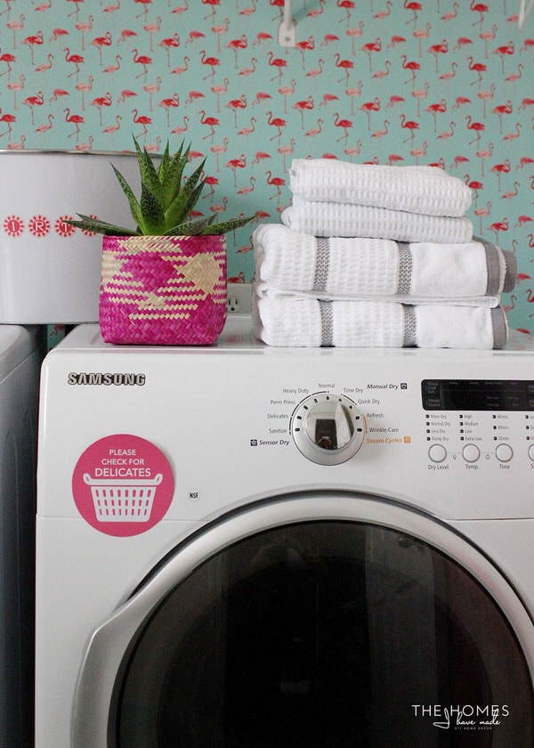 FREE Printable Magnetic Laundry Signs