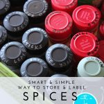 Smart & Simple Way to Organize Spices (with a printable inventory!)
