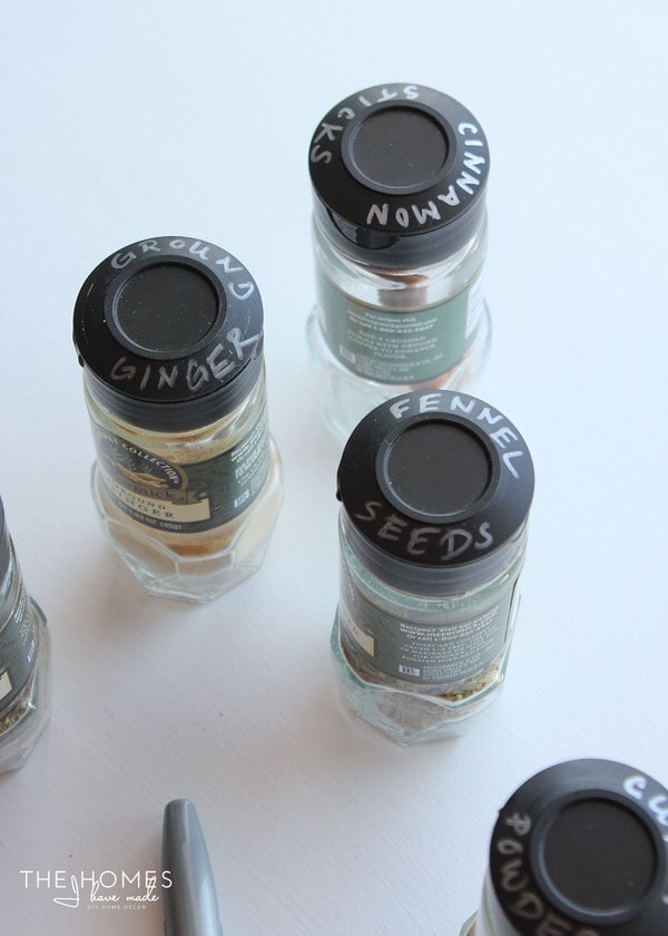 Smart & Simple Ways to Store & Label Spices - Lids