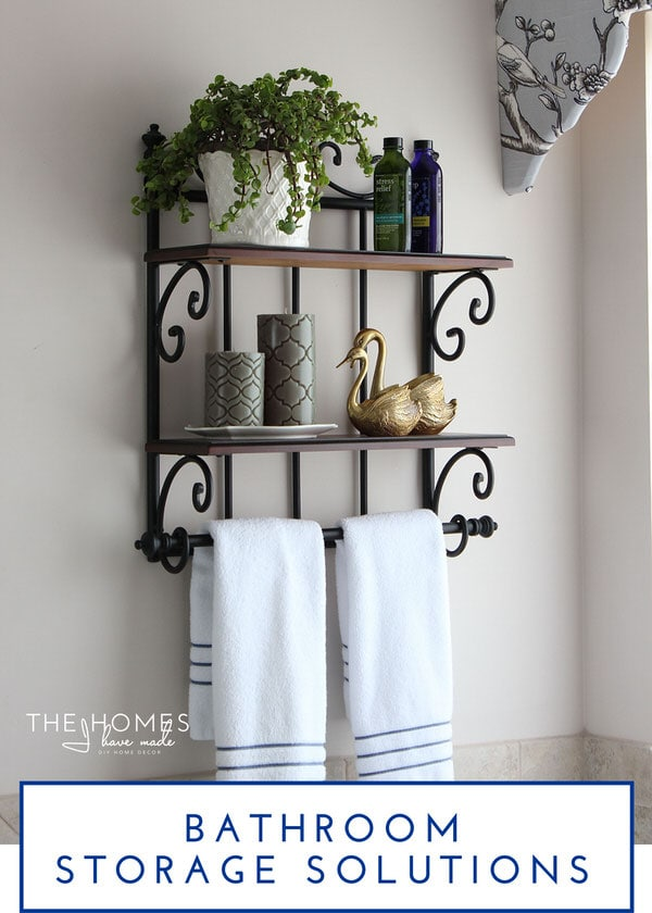 The Homes I Have Made @ForRent.com | 5 Smart Storage Solutions for your Rental Bathroom
