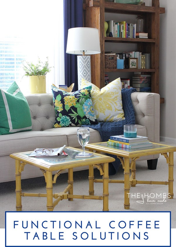 The Homes I Have Made @ForRent.com | Functional Coffee Table Solutions for Renters