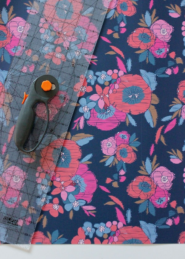 DIY Wallpapered Stool | Cut Paper
