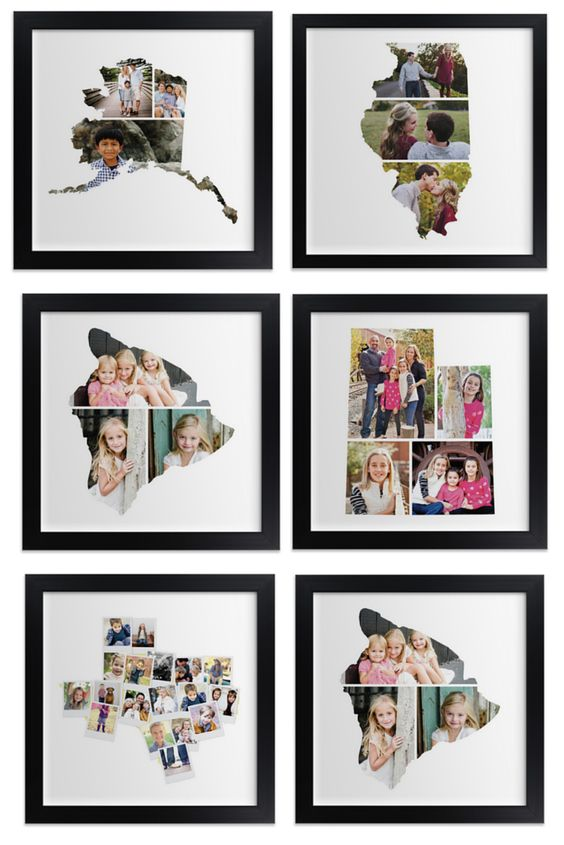 State Photo Collages via Minted