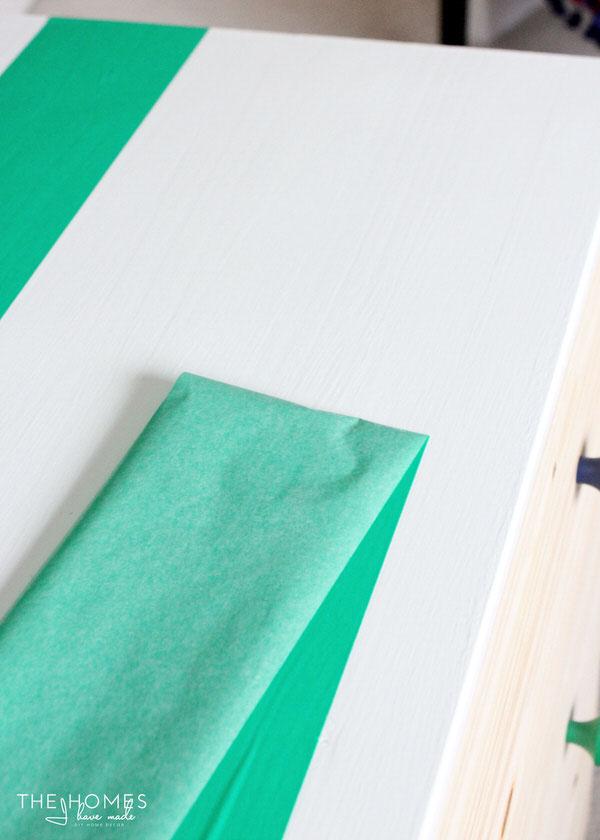 How to Make a Fabric-Covered Dresser | Prep