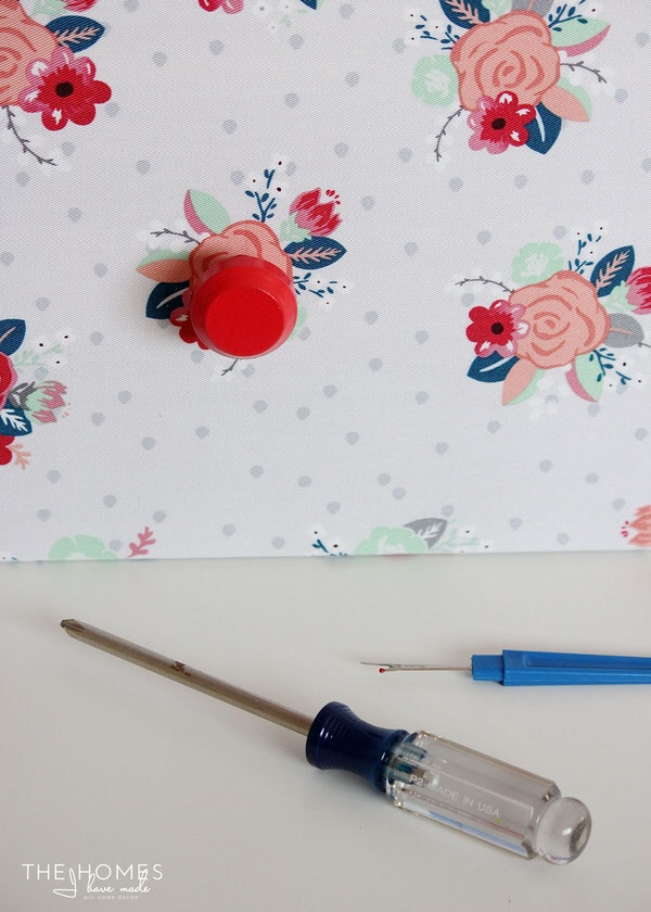 How to Make a Fabric-Covered Dresser | Replace Knobs
