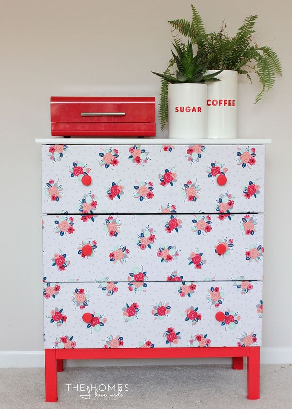 How to Make a Fabric-Covered Dresser