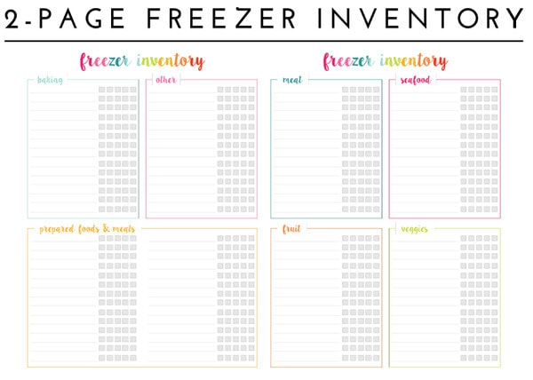 Inventory Sheet Template  BesikEightyCo