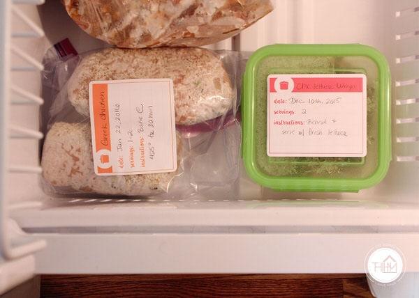 Printable Freezer Labels