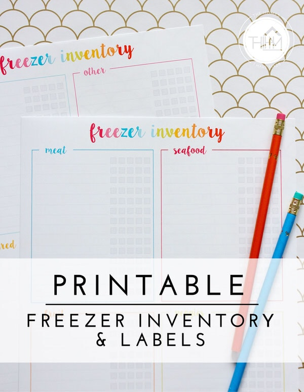 Priceless image in printable freezer labels