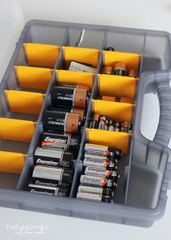 Organize This: Batteries