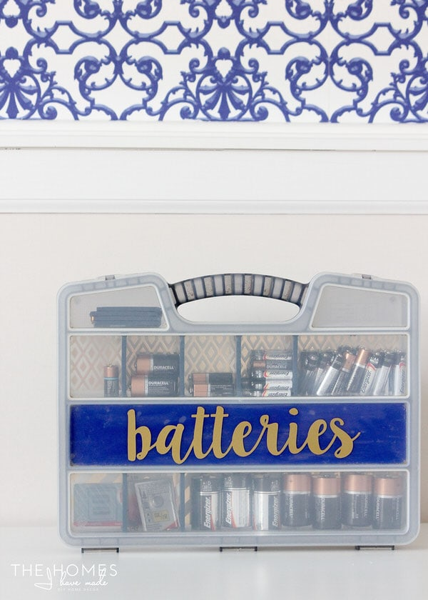 Organize This: Batteries | Make Your Own Battery Kit!