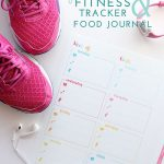 Printable Fitness Trackers and Food Journal
