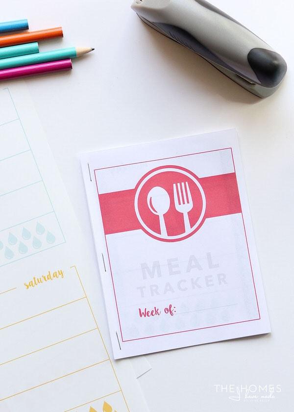 Printable Food Journal | Print and Cut