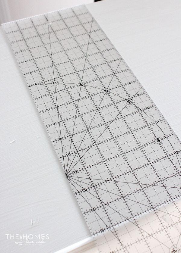 IKEA Tarva Hack with Washi Tape