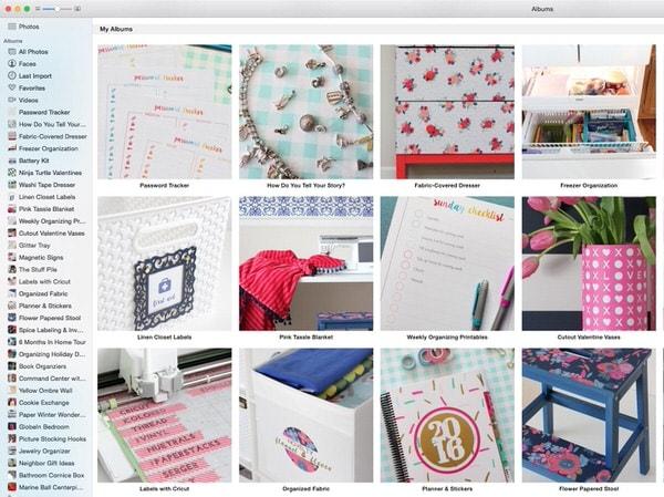 Organizing Photos