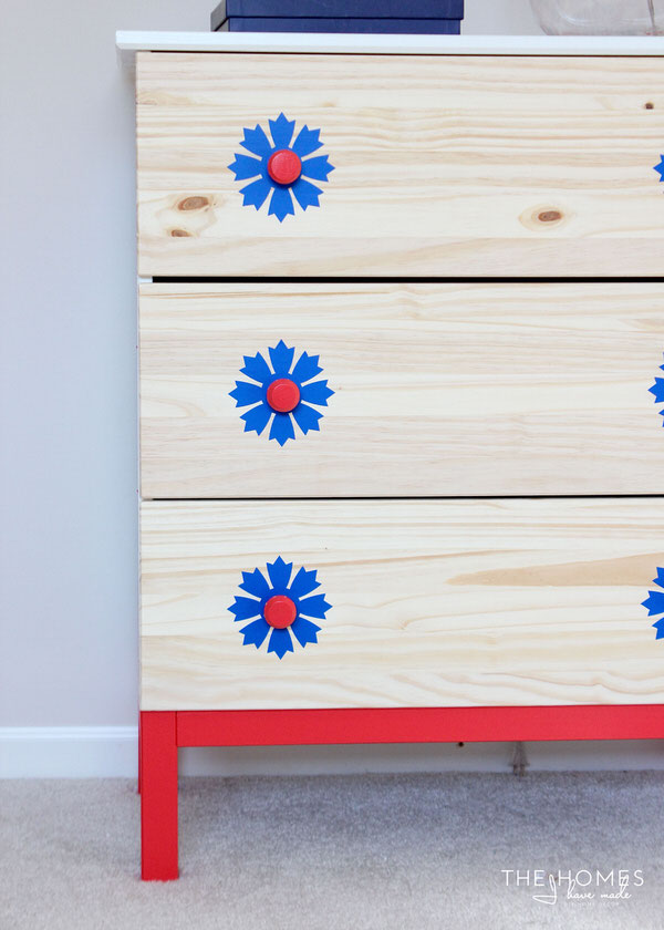 Vinyl-Covered Dresser | 1 Dresser 4 Ways