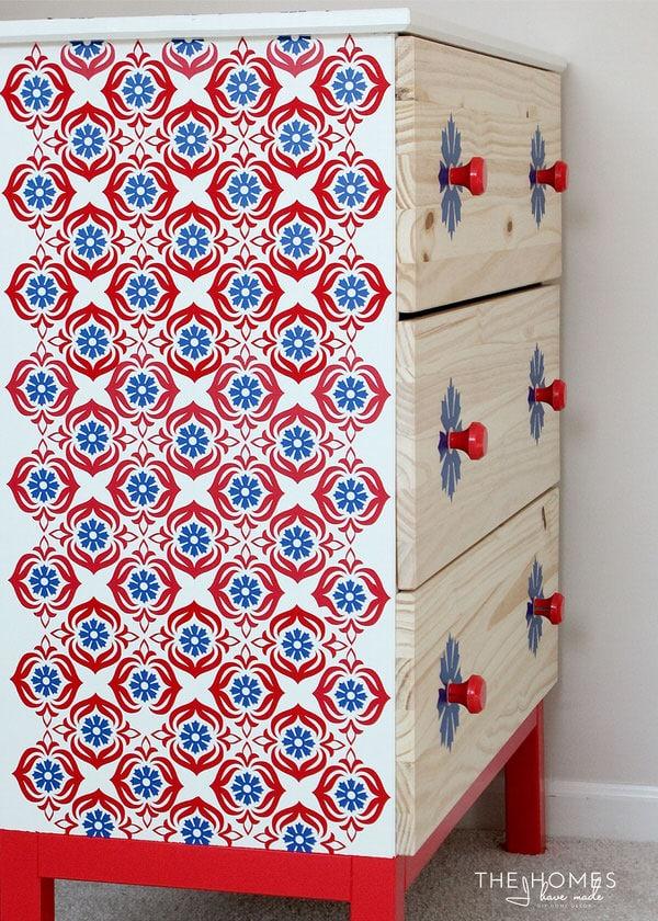 Vinyl-Covered Dresser   1 Dresser 4 Ways