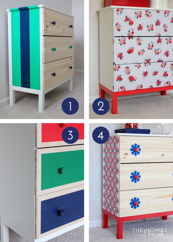 Ikea Aspelund Bed Handleiding ~ IKEA Dresser  4 Totally Temporary Transformations (Recap and VOTE