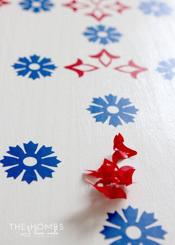 Wallpaper-Covered Dresser | Dresser Prep