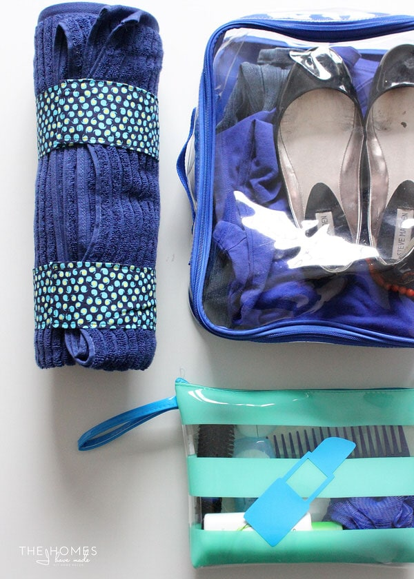DIY Towel Straps | Inside My Gym Bag