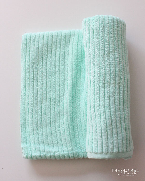 DIY Towel Straps | Rolled Towel