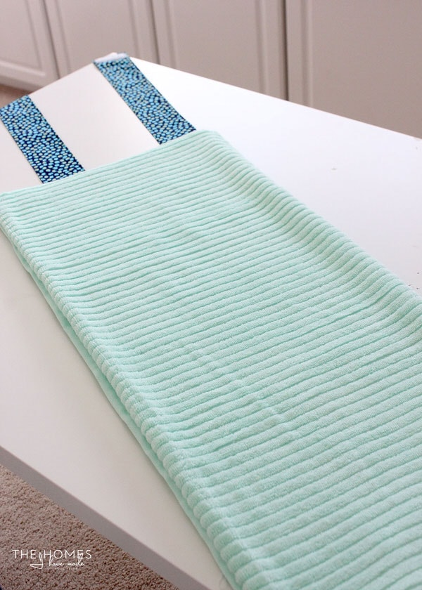 DIY Towel Straps | How to Roll the Towel