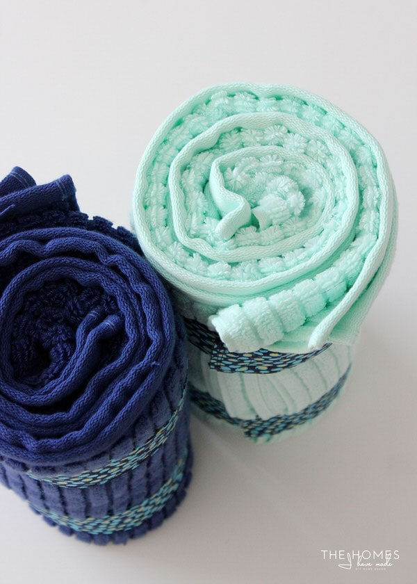 DIY Towel Straps | Tightly Rolled Towels Every Time