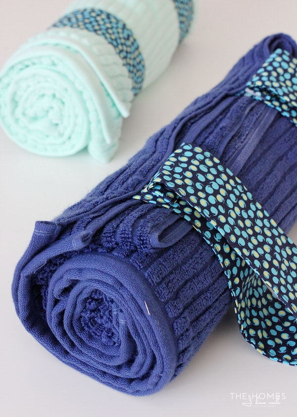 DIY Towel Straps | Attach Straps