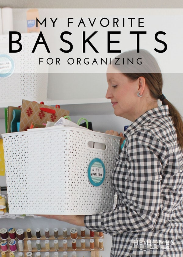 Baskets come in every size, shape, color and quality. Here are my favorite 7 baskets for organizing every area of your home!