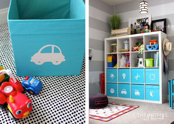 Ikea Drona Bins Are Great For The Playroom