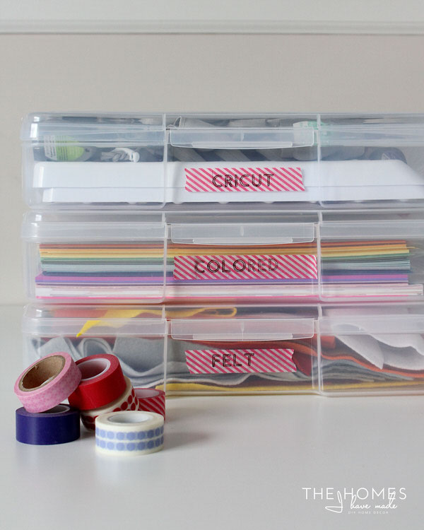 Scrapbook cases are great for holding all sorts of craft supplies, not just paper!