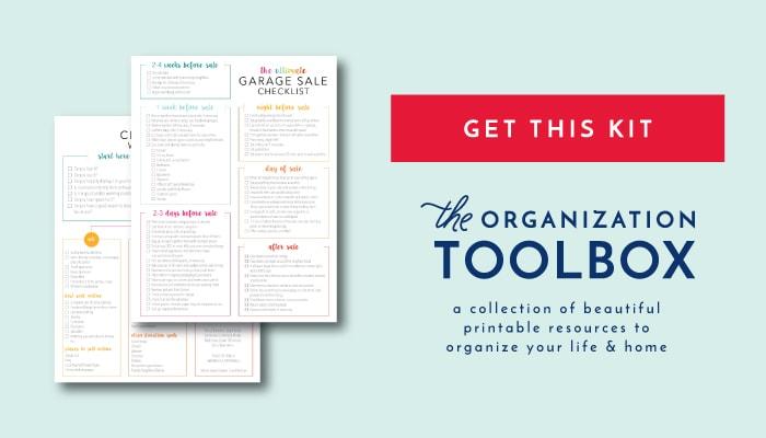 the ultimate garage sale prep kit a comprehensive printable kit