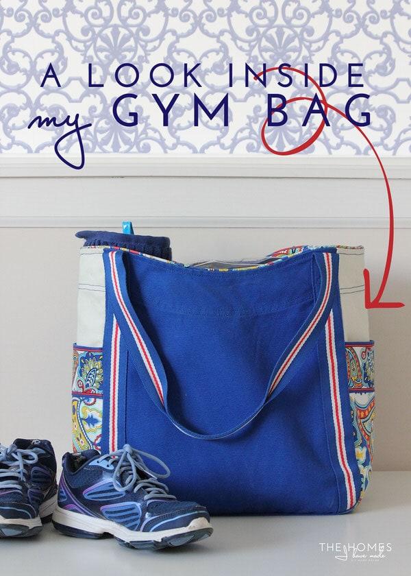 A Look Inside My Gym Bag
